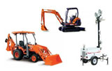 Construction Equipment Rentals in Henderson & Madisonville TX