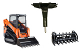 Skid Steer & Attachment Rentals in Henderson, Madisonville, & Carthage TX