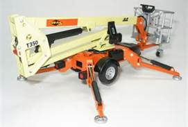 MAN LIFT JLG T 350 35 FT  BUMPER PULL Rentals Henderson TX, Where to