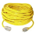 Where to rent Extension Cord - 50  10 3  yellow in Henderson TX