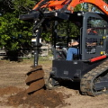 Where to rent Skid Steer Hydraulic Auger  Land Pride in Henderson TX